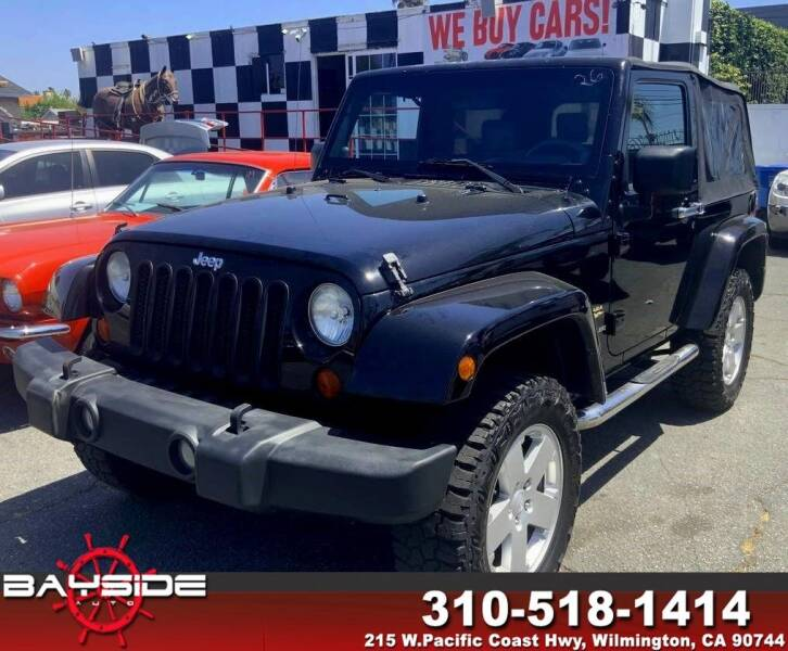 2008 Jeep Wrangler for sale at BaySide Auto in Wilmington CA