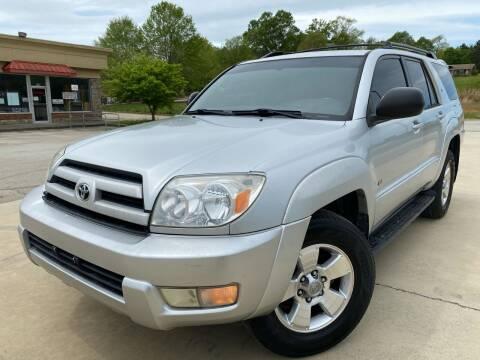 2004 Toyota 4Runner for sale at Gwinnett Luxury Motors in Buford GA