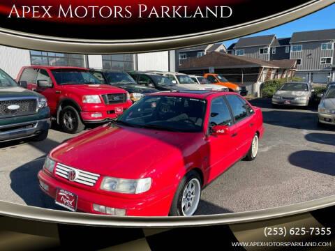 1995 Volkswagen Passat for sale at Apex Motors Parkland in Tacoma WA