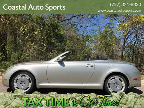 2003 Lexus SC 430 for sale at Coastal Auto Sports in Chesapeake VA