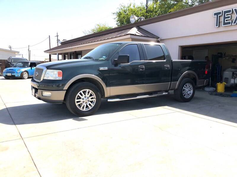 2004 Ford F-150 for sale at Texas Auto Broker in Killeen TX