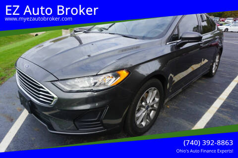 2019 Ford Fusion for sale at EZ Auto Broker in Mount Vernon OH