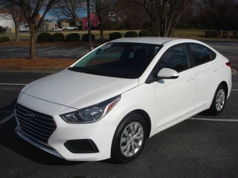 2019 Hyundai Accent for sale at Uniworld Auto Sales LLC. in Greensboro NC