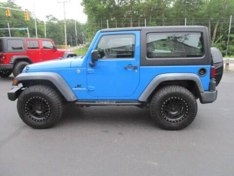 2011 Jeep Wrangler for sale at Route 4 Motors INC in Epsom NH
