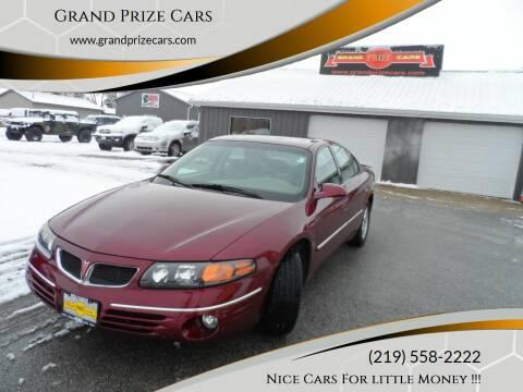 2000 Pontiac Bonneville for sale at Grand Prize Cars in Cedar Lake IN