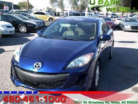 2012 Mazda MAZDA3 for sale at UPARK WE SELL AZ in Mesa AZ