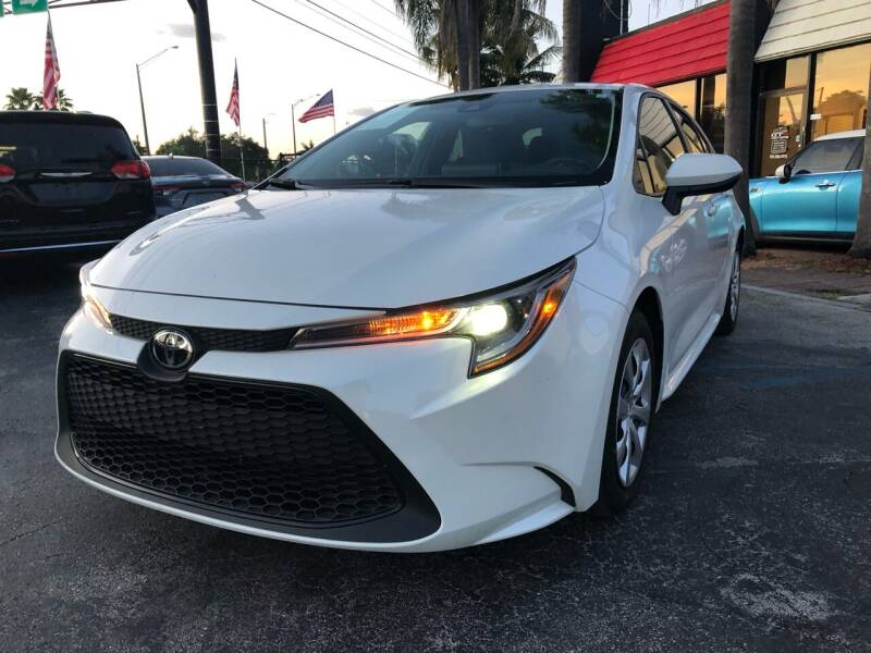 2020 Toyota Corolla for sale at Gtr Motors in Fort Lauderdale FL