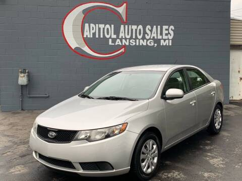2010 Kia Forte for sale at Capitol Auto Sales in Lansing MI