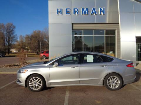 2013 Ford Fusion for sale at Herman Motors in Luverne MN