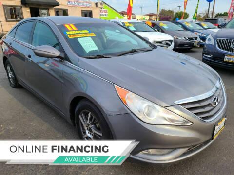 2011 Hyundai Sonata for sale at Super Cars Sales Inc #1 - Super Auto Sales Inc #2 in Modesto CA