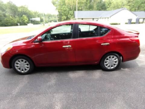 2013 Nissan Versa for sale at West End Auto Sales LLC in Richmond VA