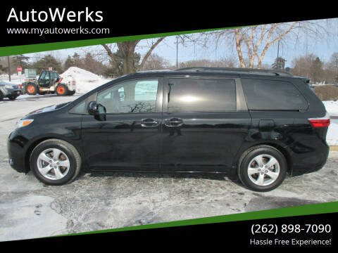 2015 Toyota Sienna for sale at AutoWerks in Sturtevant WI