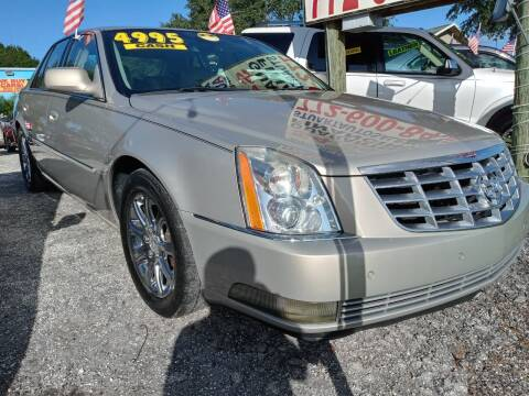 2008 Cadillac DTS for sale at AFFORDABLE AUTO SALES OF STUART in Stuart FL