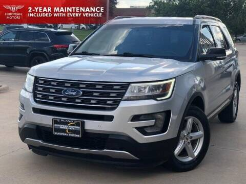 2017 Ford Explorer for sale at European Motors Inc in Plano TX