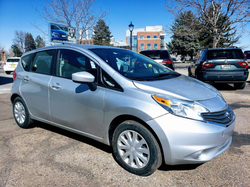 2015 Nissan Versa Note for sale at J & M PRECISION AUTOMOTIVE, INC in Fort Collins CO