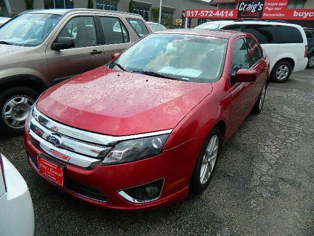 2011 Ford Fusion for sale at Craig's Classics in Fort Worth TX