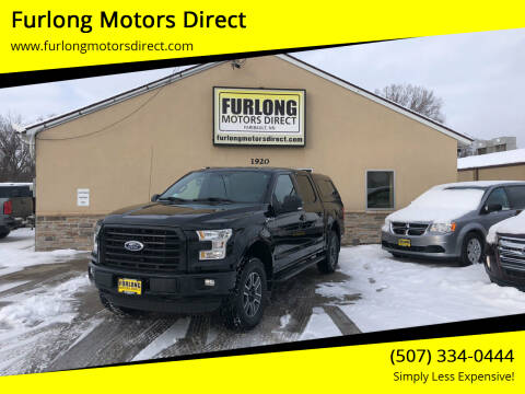 2016 Ford F-150 for sale at Furlong Motors Direct in Faribault MN