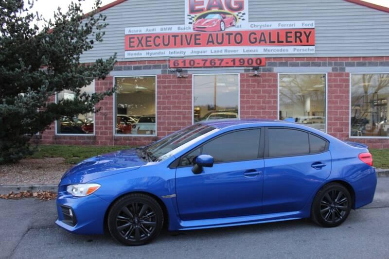 2019 Subaru WRX for sale at EXECUTIVE AUTO GALLERY INC in Walnutport PA