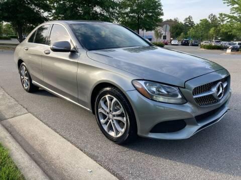 2015 Mercedes-Benz C-Class for sale at LA 12 Motors in Durham NC