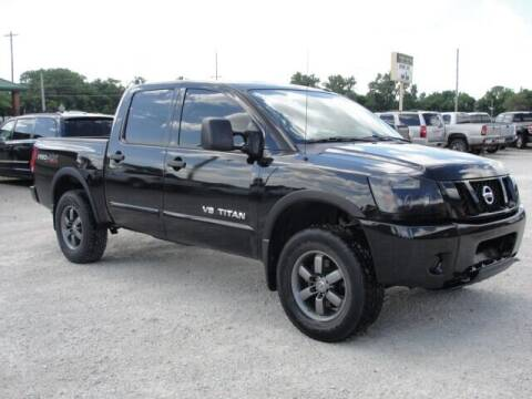 2012 Nissan Titan for sale at Frieling Auto Sales in Manhattan KS