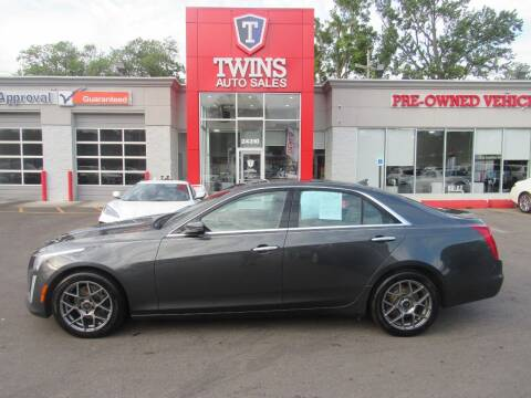 2014 Cadillac CTS for sale at Twins Auto Sales Inc in Detroit MI