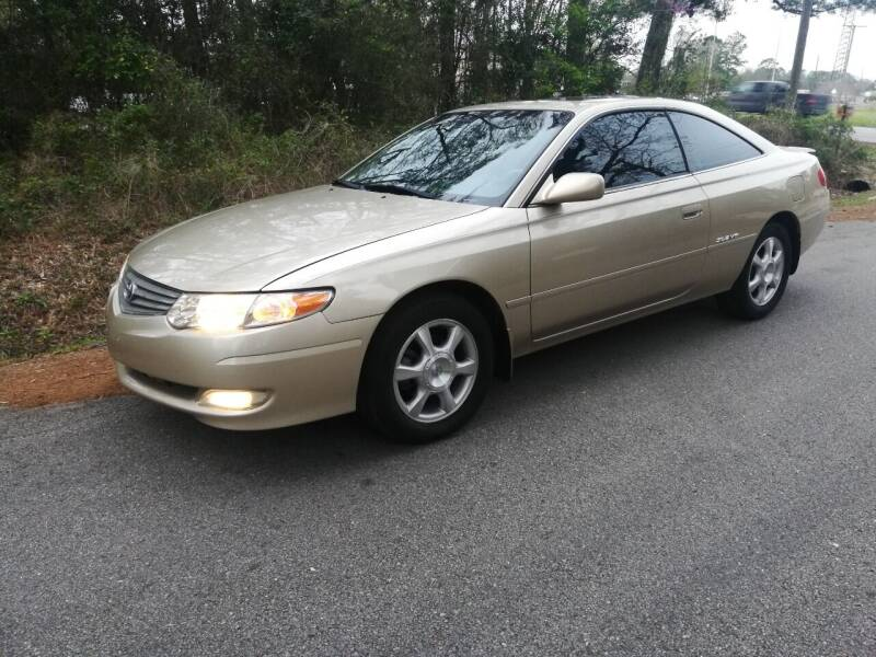 2003 Toyota Camry Solara for sale at Low Price Autos in Beaumont TX