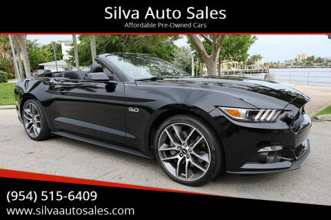 2015 Ford Mustang for sale at Silva Auto Sales in Pompano Beach FL