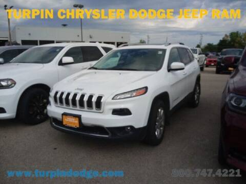 2017 Jeep Cherokee for sale at Turpin Dodge Chrysler Jeep Ram in Dubuque IA