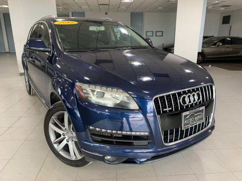 2012 Audi Q7 for sale at Auto Mall of Springfield in Springfield IL