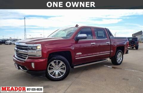 2017 Chevrolet Silverado 1500 for sale at Meador Dodge Chrysler Jeep RAM in Fort Worth TX