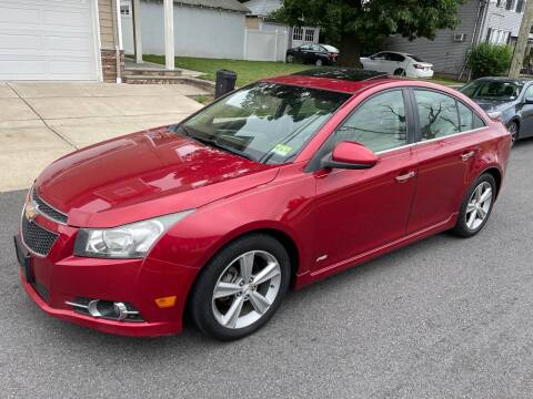 2012 Chevrolet Cruze for sale at Jordan Auto Group in Paterson NJ