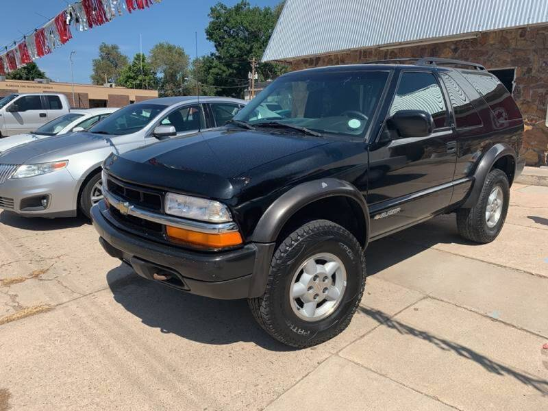 1999 Chevrolet Blazer for sale at PYRAMID MOTORS AUTO SALES in Florence CO