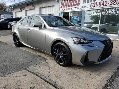 2017 Lexus IS 300 for sale at Sunrise Auto Outlet in Amityville NY