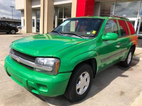 2003 Chevrolet TrailBlazer for sale at Thumbs Up Motors in Warner Robins GA