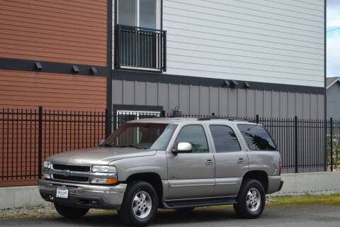 2001 Chevrolet Tahoe for sale at Skyline Motors Auto Sales in Tacoma WA
