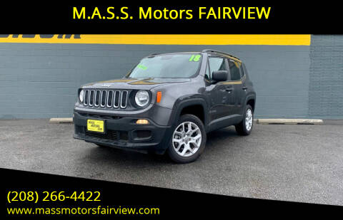 2018 Jeep Renegade for sale at M.A.S.S. Motors - Fairview in Boise ID