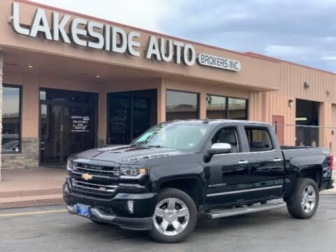 2016 Chevrolet Silverado 1500 for sale at Lakeside Auto Brokers Inc. in Colorado Springs CO