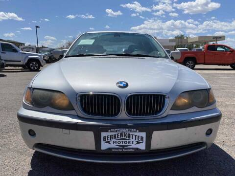 2003 BMW 3 Series for sale at BERKENKOTTER MOTORS in Brighton CO