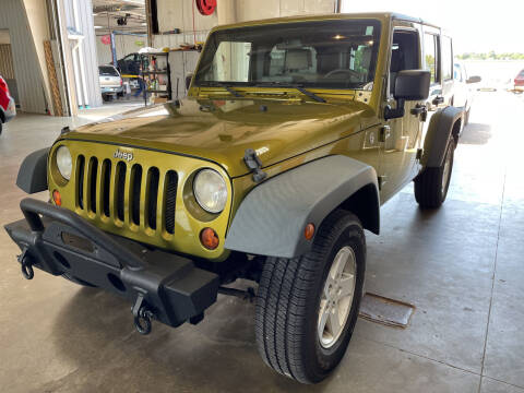 2008 Jeep Wrangler Unlimited for sale at Blake Hollenbeck Auto Sales in Greenville MI