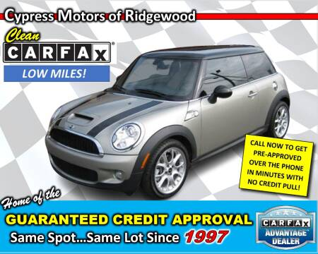 2006 MINI Cooper for sale at Cypress Motors of Ridgewood in Ridgewood NY