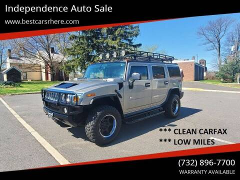 2003 HUMMER H2 for sale at Independence Auto Sale in Bordentown NJ