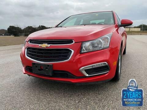 2015 Chevrolet Cruze for sale at Destin Motors in Plano TX