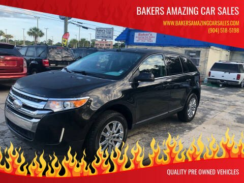 2014 Ford Edge for sale at Bakers Amazing Car Sales in Jacksonville FL