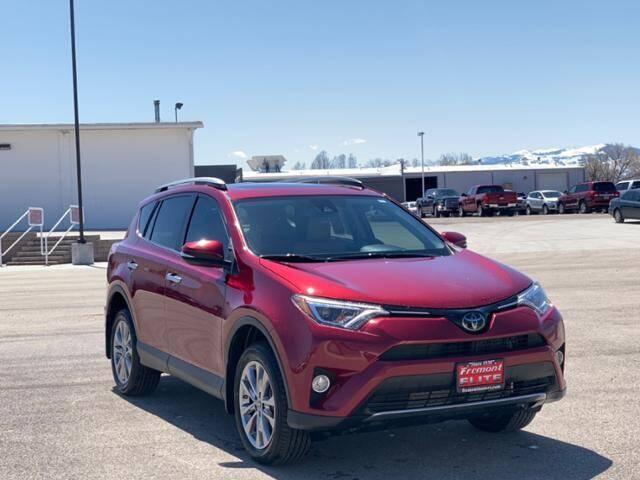 2018 Toyota RAV4 for sale at Rocky Mountain Commercial Trucks in Casper WY