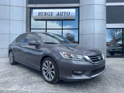 2014 Honda Accord for sale at Berge Auto in Orem UT