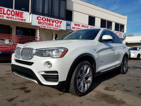 2015 BMW X4 for sale at Convoy Motors LLC in National City CA