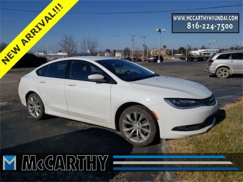 2016 Chrysler 200 for sale at Mr. KC Cars - McCarthy Hyundai in Blue Springs MO