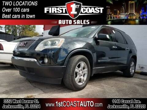 2009 GMC Acadia for sale at 1st Coast Auto -Cassat Avenue in Jacksonville FL