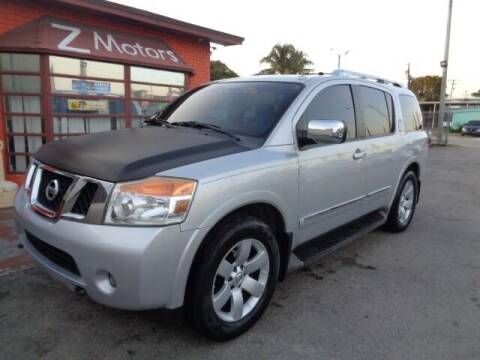 2011 Nissan Armada for sale at Z MOTORS INC in Hollywood FL