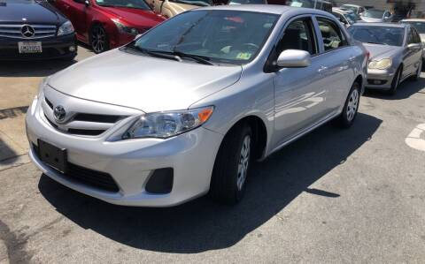 2012 Toyota Corolla for sale at Excelsior Motors , Inc in San Francisco CA